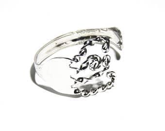 Fork Bracelet, Stainless Steel Cuff, Women, Men, Mirror Finish, BLB 20