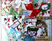 Snow Much Fun Creativity Kit Polly's Paper Studio Paper Images Bows Paper Crafting Kit 68 piece