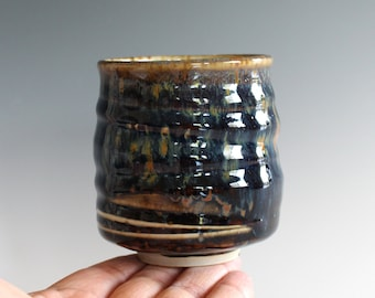Yunomi, Tea Cup, handmade ceramic tea cup, pottery cup, wheel thrown, ceramics and pottery