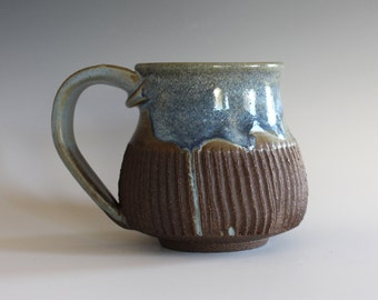 unique coffee mug, 11 oz, handmade ceramic cup, handthrown mug, ceramic stoneware, pottery mug, unique coffee mug, ceramics and pottery