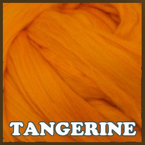 Ashland Bay Merino Roving - Shades of Orange