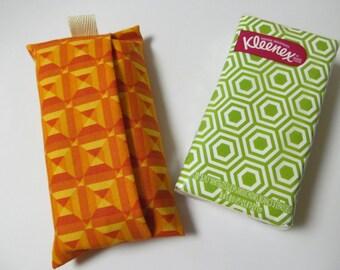 Tissue Case/Orange Square