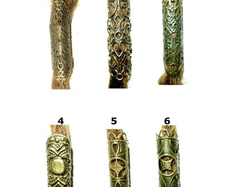 pick style: filigree dread bead