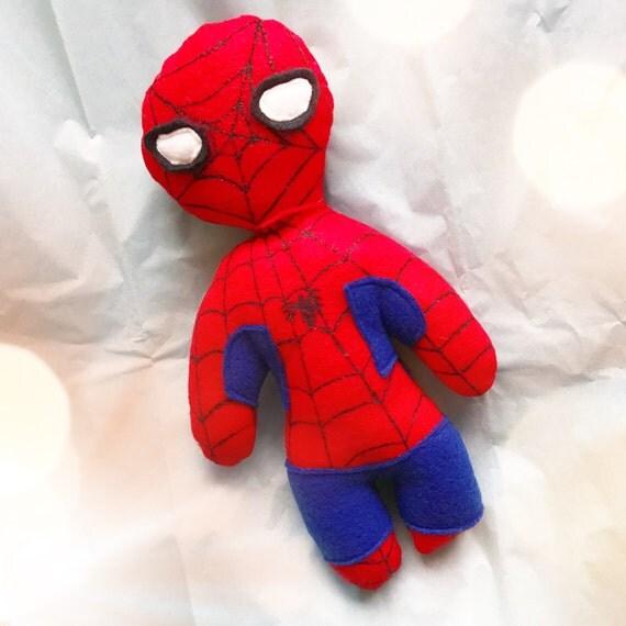 Spider man soft action figure doll SpiderMan cute stuffie childrens toy