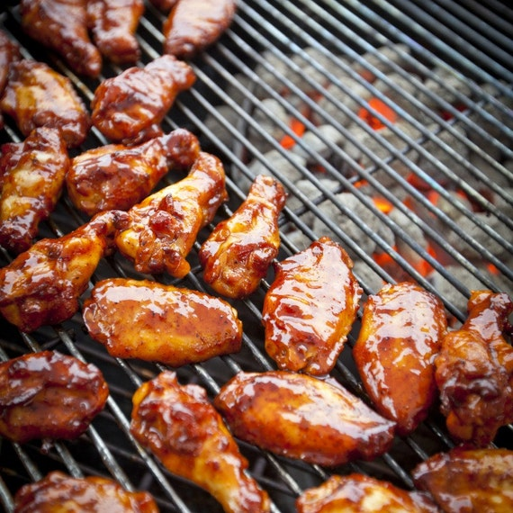 Chicken Hot Wings BBQ Dry Rub - sugar free spices, chicken wings rub for grilling