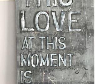 Original Word Art-Wall Painting