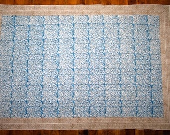 Handmade Flat Weave Accent Rug - Measures 4 x 6 Feet