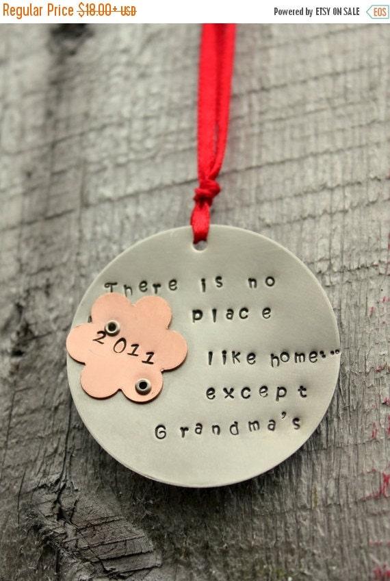 HUGE sale Grandma Ornament, Personalized Christmas ORNAMENT Grandma Nana - Holiday Personalized Ornament, Grandmother Ornament,Grandma Gift,