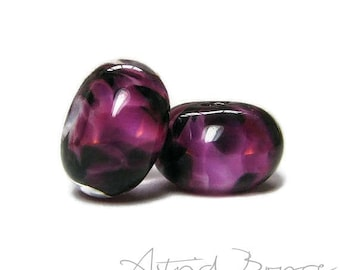 Winery Artisan Lampwork Glass Bead Pair - Wonderful for that Winery Wedding Theme -Jewelry for Wine Lover - Buy Several Sets for Bridesmaids