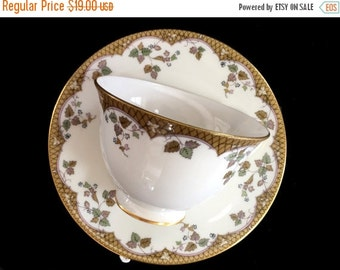 """Royal Doulton Teacup and Saucer, """"Lynnewood"""" Cup and Saucer - England 13843"""