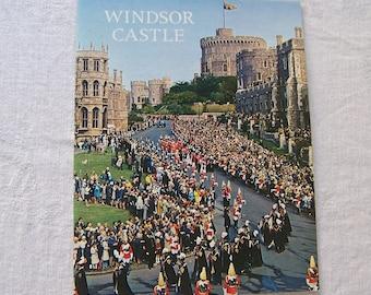Vintage Windsor Castle Travel Guide Souvenir Booklet Pitkin Pictorials 1972