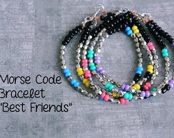 BFF Bracelet Set, Matching Friendship Bracelets for 3, Best Friend Bracelets for 2, BFF Gifts, Best Friend Gifts, Gifts for friends women