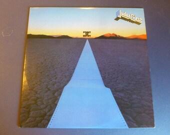 Judas Priest Point Of Entry Vinyl Record LP FC 37052 Columbia Records 1981