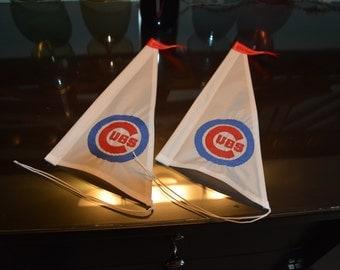 World Series Cubs Sails Set of (2)
