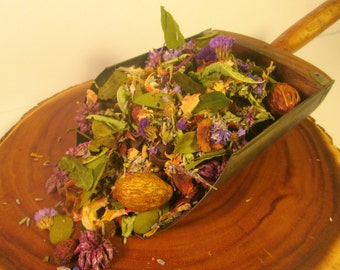 Lavender Citron Handcrafted Potpourri with Refresher Oil // 8 cups