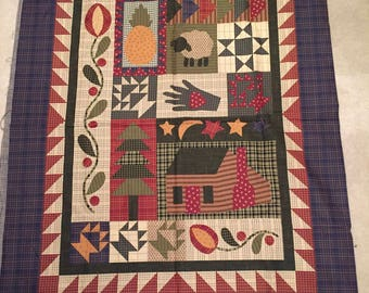 Cheater Quilt panel Cotton Quilt Panel Quilt Cloth Whole Cloth Quilt Front