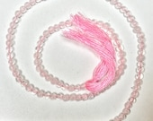 Rose Quartz Round Beads-2 mm