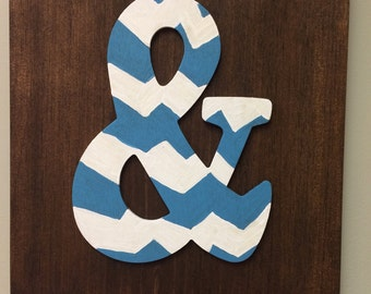 "Ampersand sign    12""x12"""