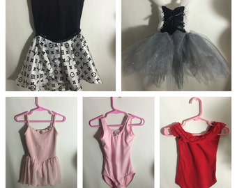 5 Lot of Beautiful Ballet Costumes 2-4T