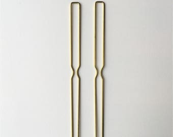 Flat End Hairpins