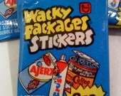 Wacky Packages Series 3 Trading Cards