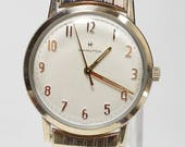 Vintage Swiss Hamilton Sea Ranger II 10K RGP Gents Wristwatch, Hamilton Sea Ranger Grade 688, Mens Hamilton Watch, Swiss Watch, Hamilton