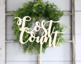 Lost Count Cake Topper Birthday Cake Topper
