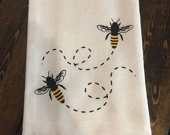 Bees on the Run Towel