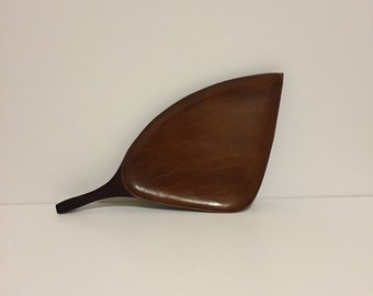 ON SALE Wood Serving Tray Leaf Tray