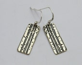 RESERVED for MEAGAN2000 - Silver Aspen Tree Earrings