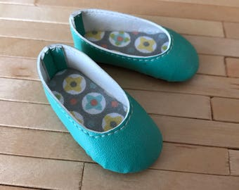 Básic Shoes Tourquoise for Minifee Moe on Box