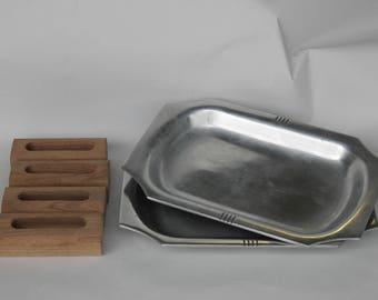 Vintage Sizzlemaster Custom Craft Platters