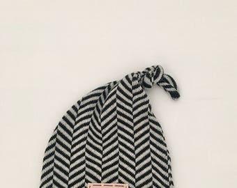 SALE: Ready to ship, knots, newborn hat, boy hat, newborn photo prop, baby hat