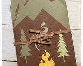 Camping Adventures Men's Fold Out Card