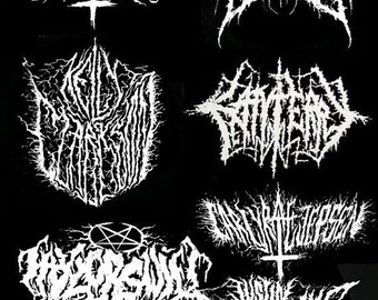 mega deal on pop music black metal grind patches 8 patches for 7 dollars