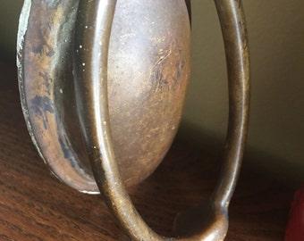 Vintage brass door knocker