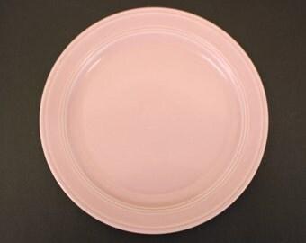 Vintage Pink Vernon Kilns 'Modern California' Dinner Plate (E1193)