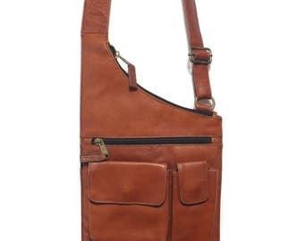 50% OFF Sale 90's Latico Columbian Leather Side Satchel Shoulder Bag