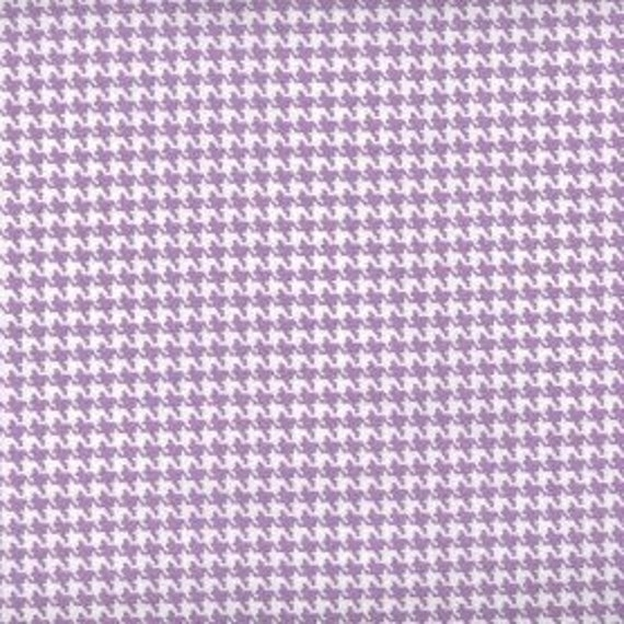 Houndstooth fabric,Lavender and white houndstooth fabric,100% cotton,Quilt fabric,Apparel fabric,Craft,Sold by FAT QUARTER INCREMENTS