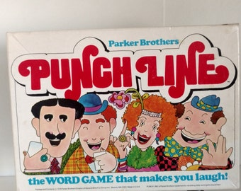 1978 Parker Brothers Punch Line the Word Game