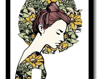 Melancholia Print - A3