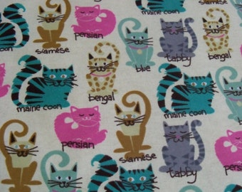 Cat Breeds! Refillable Catnip Mat