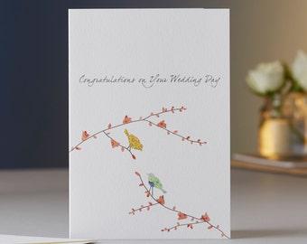 Two Birds Wedding Congratulations