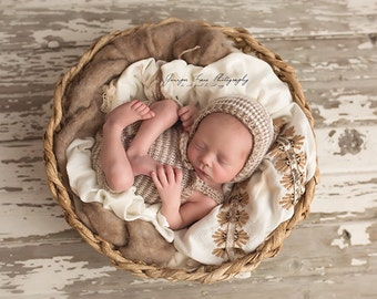 Baby boy romper set baby gift - baby outfits for pictures  -  baby boy photo outfit - newborn baby boy romper - coming home outfit boy