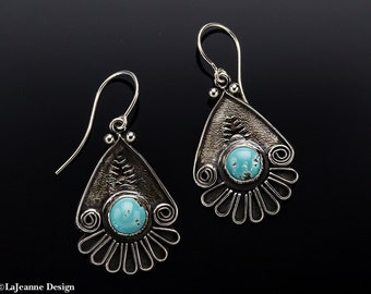 Sonoma - Turquoise Sterling Silver Earrings