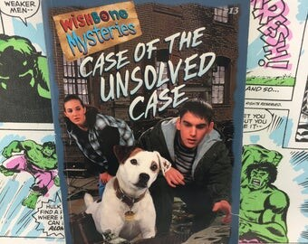 Wishbone Mysteries - Case of the Unsolved Case - Young Adults