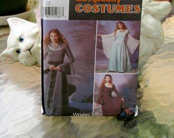 Simplicity 9891 Adult Historical/Medieval/Renaissance Costume sz 6-12 Uncut