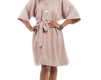 Short Dress, Beige dress,  Wedding guest dress : Smart Chic Collection 2