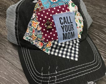 Call Your Mom Trucker Hat