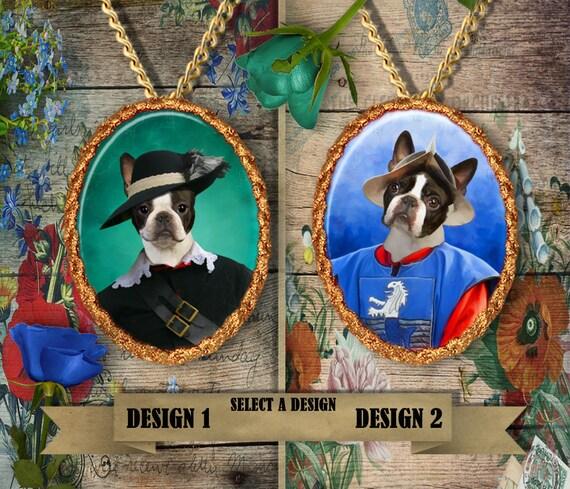 Joyería de perro Boston Terrier joyería/Boston Terrier